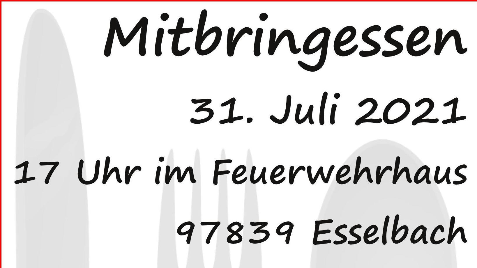 Mitbringsessen In 97839 Esselbach