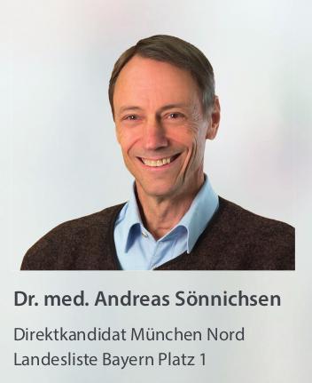 Dr. med. Andreas Sönnichsen, Landesliste Platz 1