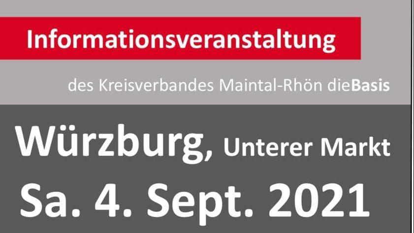 Informationsveranstaltung In Würzburg