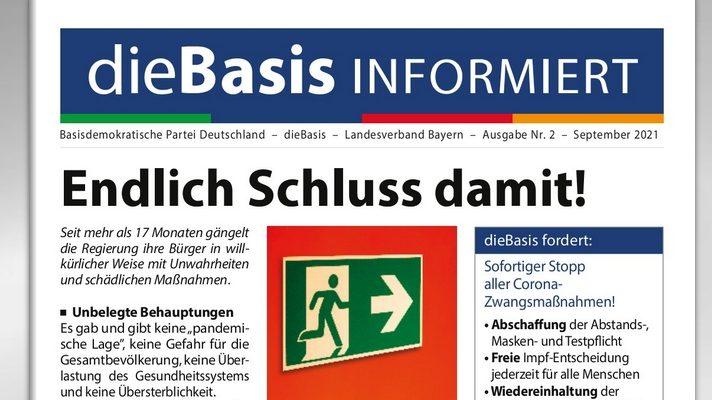 DieBasis Informiert - Ausgabe Nr. 2