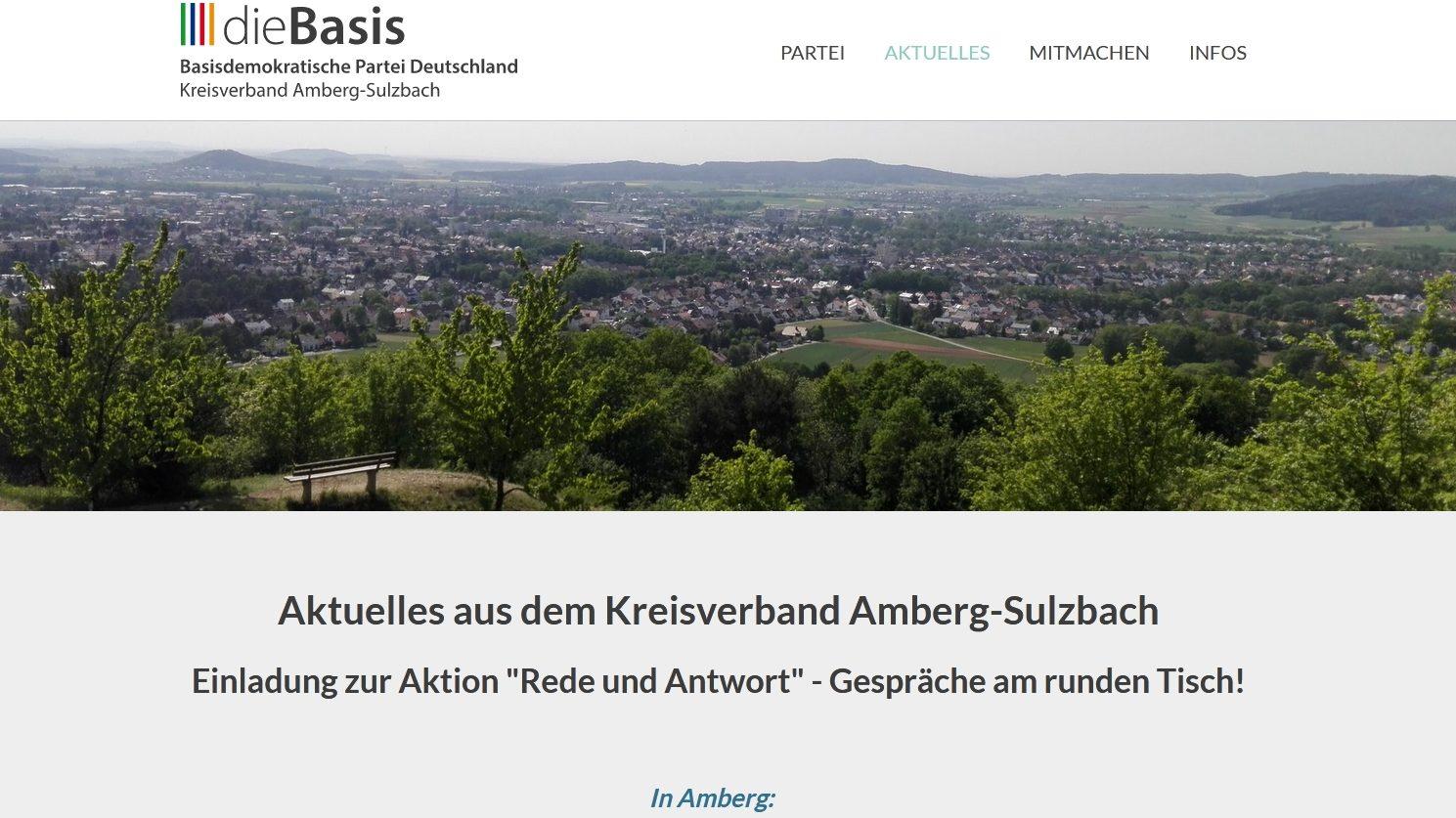 Runder Tisch Beim KV Amberg-Sulzbach