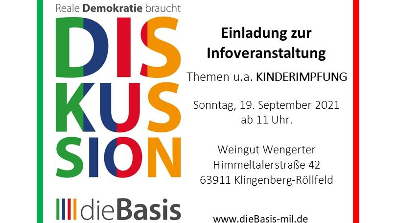 Infoveranstaltung In Klingenberg-Röllfeld