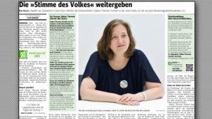 Interview mit Sabine Theresia Schmitt