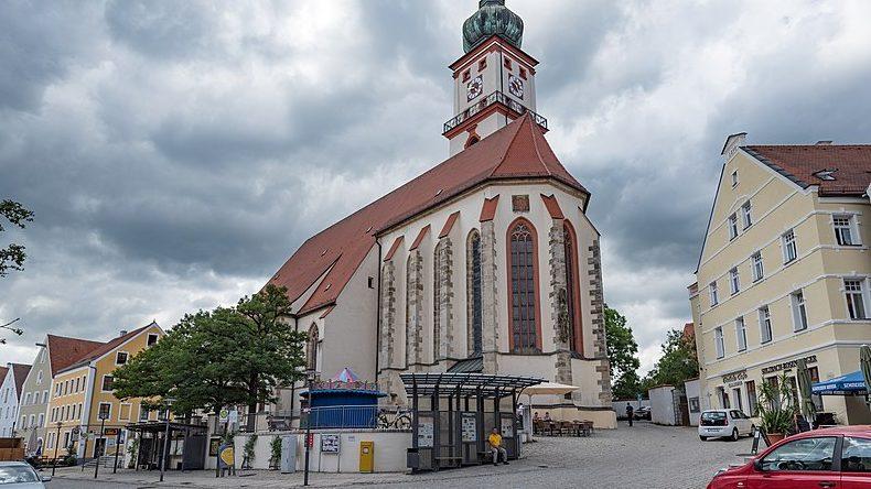 Luitpoldplatz In Sulzbach-Rosenberg