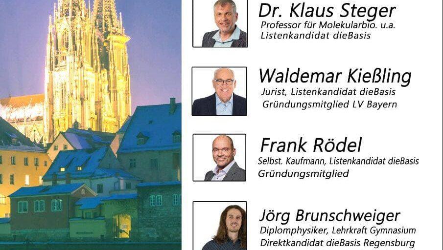 Wahlkampf In Regensburg