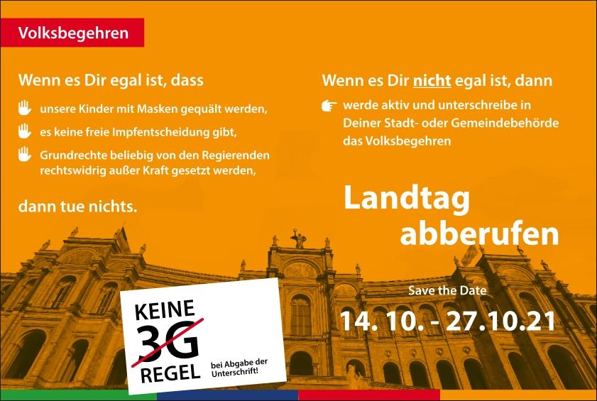 Landtag Abberufen
